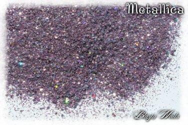 'metallica' glitter mix
