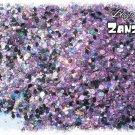'zanzibar' glitter mix