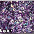 'purple quartz' glitter mix