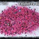'raspberry sundae' glitter mix