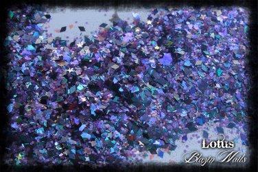 'lotus' glitter mix