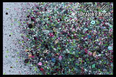 'dragon's breath' glitter mix