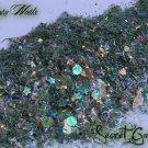 'secret garden' glitter mix