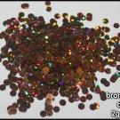 2g bag of bronze holographic discs