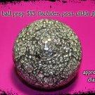 photo prop - mirror ball