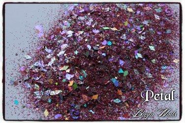 'petal' glitter mix