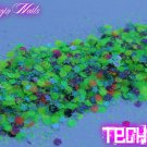 'techno' glitter mix