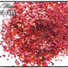 'crushed ruby' glitter mix