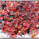 'inferno' glitter mix