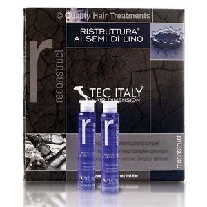 Tec Italy Recunstruct Treatment Al Semi Di Lino 12 pk