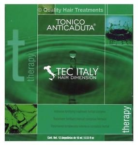Tec Italy Hair Loss Therapy Treatment for thin & weak