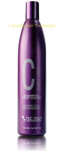 Tec Italy Color Care Shampoo Post Color for tinted hair 10.1 oz