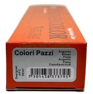 Tec Italy Designer Color, Colori Pazzi Silver / Plata Haircolor 3 oz