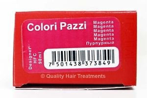 Tec Italy Designer Color, Colori Pazzi Magenta Haircolor 3 oz