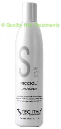 Tec Italy Curl Enhancer moisture & definition Riccioli Conditioner 10.1 oz