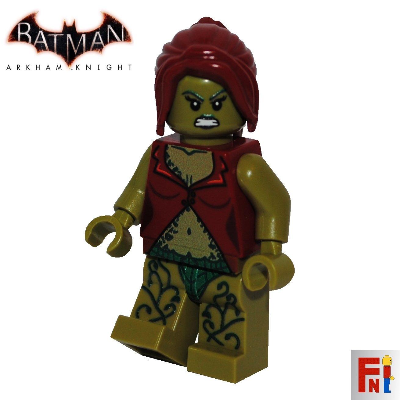 Arkham knight poison ivy lego