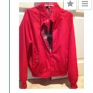 red zippered jacket size large by Knightsbridge