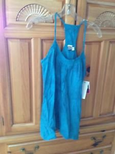Women's Blue Bodi Top Size Medium By Roxy'