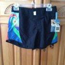 Women's black board shorts size 3 by roxy