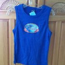 Women's blue sleeveless top size large by o'neill