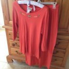 2 piece set women's shirt & pants size medium by Coldwater creek