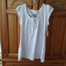 Women's white 100% cotton scoop neck top size small by Element
