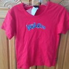 Women's Red Top by Volcom Size Medium