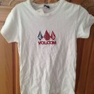 Women's White Top by Volcom Size Large