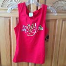 Women's red sleeveless top size medium by Roxy