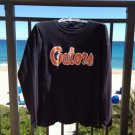 university of florida gators long sleeve thermal shirt navy blue size XL