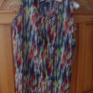 Women's Multicolored Sleeveless Top Size Medium by De'rotchild