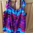 Women's multicolor top by reef size medium