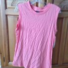 Women's sleeveless peach top by roxy size large