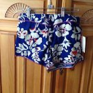 Women's blue floral shorts by roxy size 3
