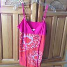 Women's print camisole top size small by Roxy