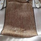 Women's Jessica Simpson Handbag White & Tan beautiful condition ^
