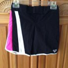 Roxy Girl Black Board Shorts Size 7
