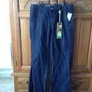 Women's Roxy Size 5 Blue Jeans Sano wide leg