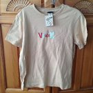 Women's Tan Top by Volcom Size Large