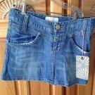 Women's Denim Skirt Size 3/26 By Reef ^