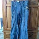 Women's jeans size 1 by volcom wide leg