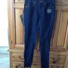 women's by volcom blue jeans size 3 fleetwood modern straight style