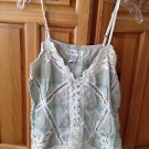 Women's plaid camisole top size large by billabong
