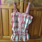 Women's Plaid Camisole Top By Element Size Large