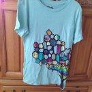 Women's Aqua Shirt By Roxy Size Large