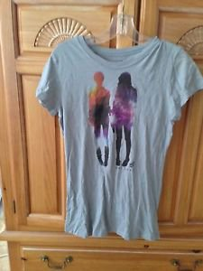 Women's multicolor grey top by volcom size large