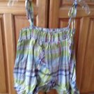Women's Plaid Camisole Top By Billabong Size Medium