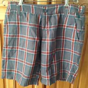 Women's Billabong Plaid Shorts Size 3