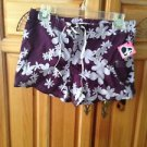 Women's Print Shorts by Hurley Size 1