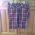 Women's Plaid Shorts By Element Size  3